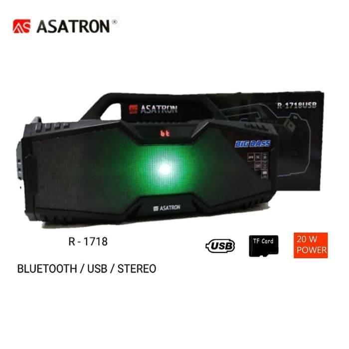 Speaker Bluetooth Asatron R-1718 Usb Stereo.4