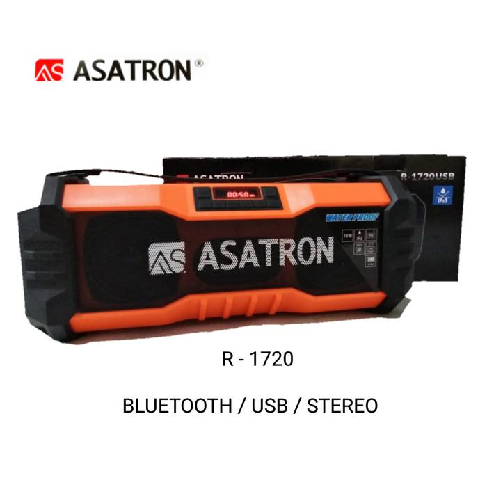 Speaker Bluetooth Asatron R - 1720 Usb Stereo.