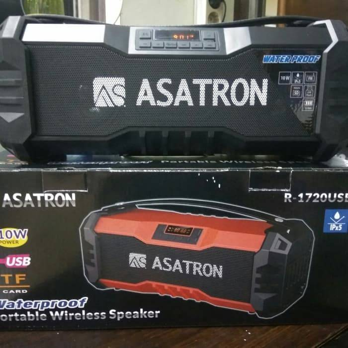 Speaker Bluetooth Asatron R - 1720 Usb Stereo.1