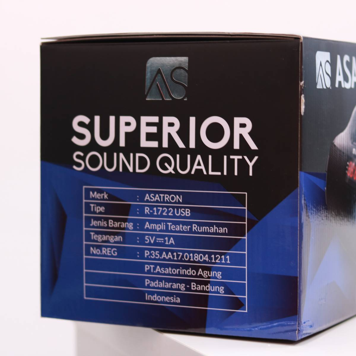 Asatron Wireless Bluetooth Speaker R-1722 Usb2