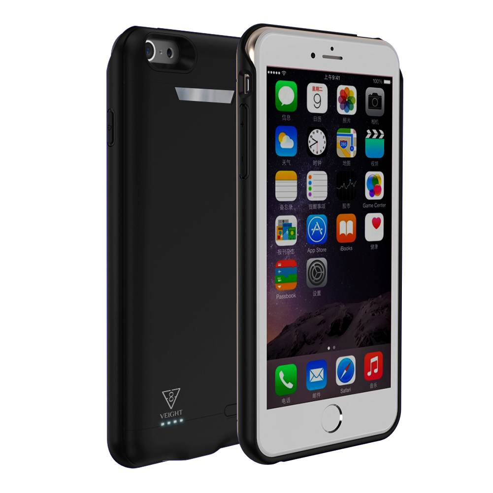 Power Bank Nirkabel Power Case Iphone 6 + / 6s + / 7 + / 8 + 7500mah Veight V102