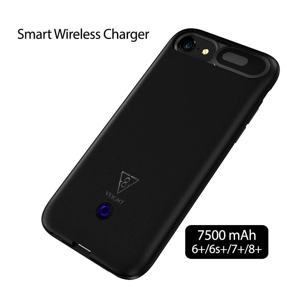 Power Bank Wireless Power Case Iphone 6+/6s+/7+/8+ 7500mah Veight V1041