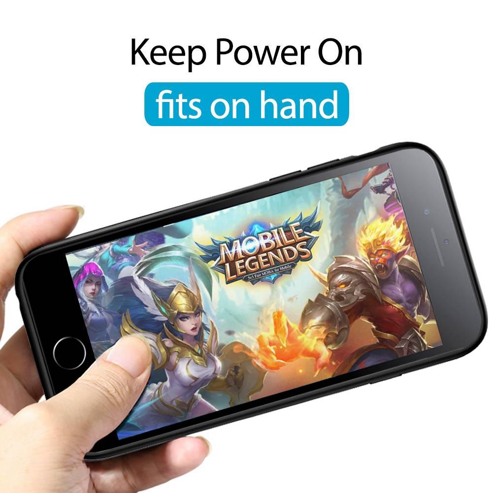 Power Bank Wireless Power Case Iphone 6+/6s+/7+/8+ 7500mah Veight V1042