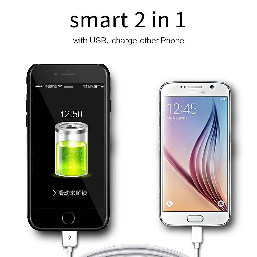 Power Bank Wireless Power Case Iphone 6+/6s+/7+/8+ 7500mah Veight V1043