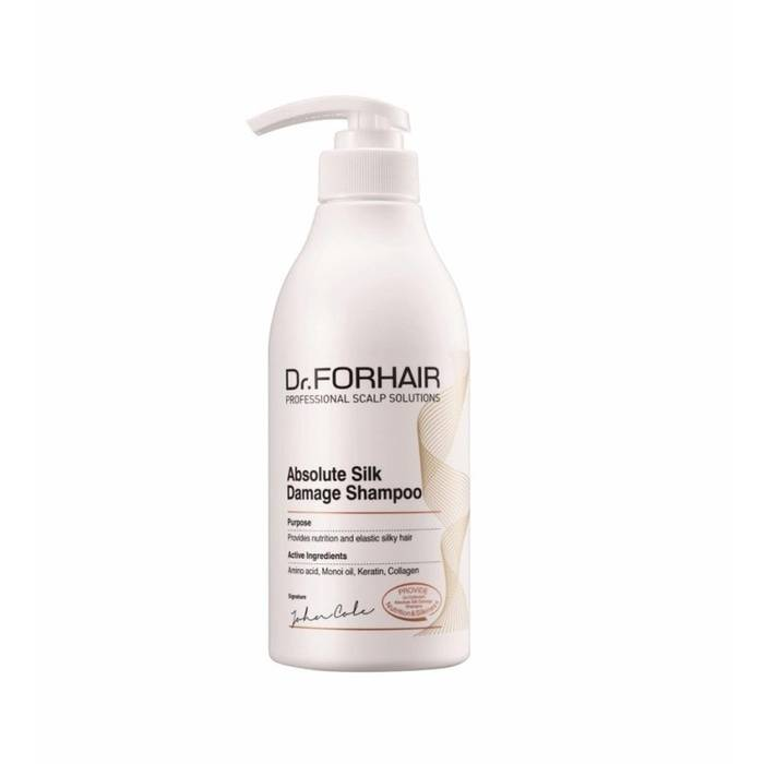 Shampo Korea - Dr. Forhair Absolute Silk Damage Shampoo 500ml