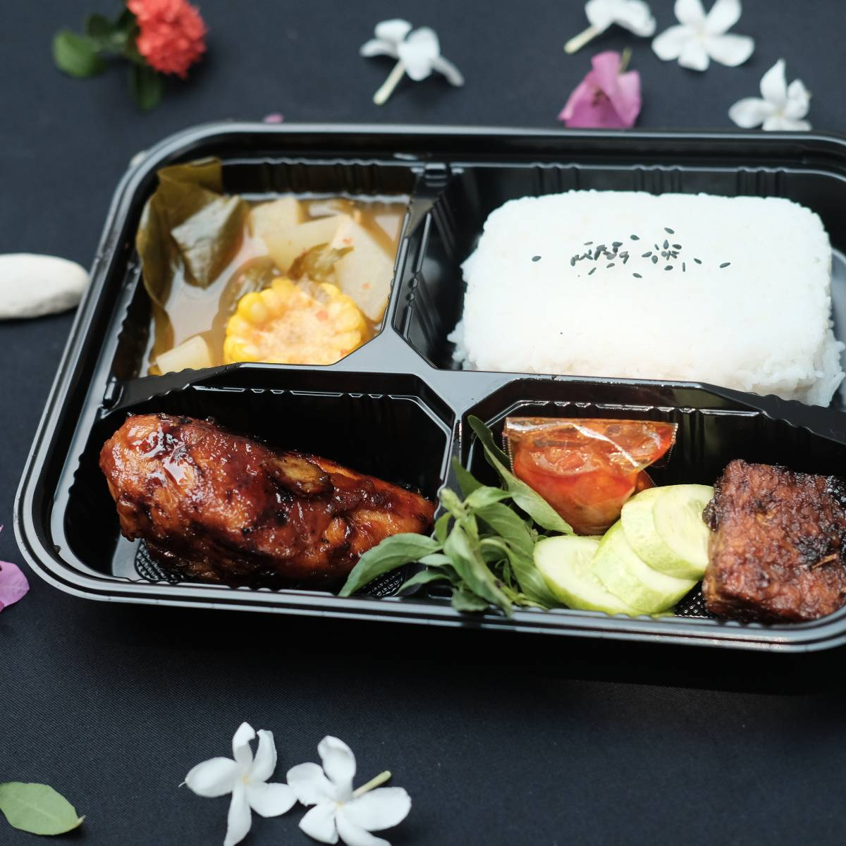 "Paket Lunch Box "" Ayam Bakar Kecap ""0"