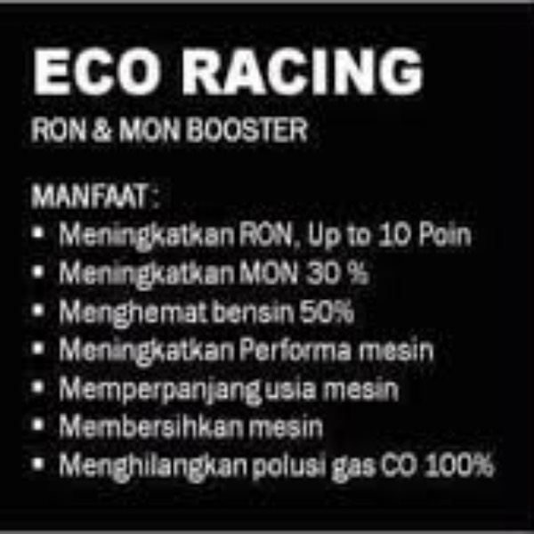 Eco Racing Mobil Bensin 1pack Isi @10 Sachet Original4