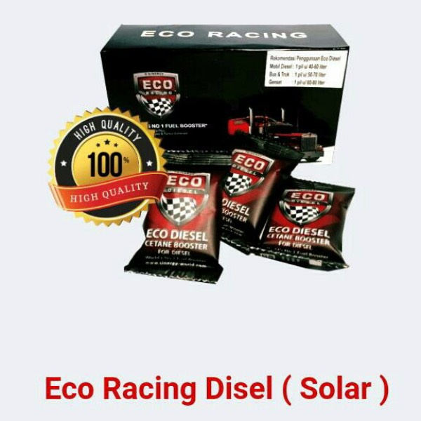 Eco Racing Diesel 1 Pack Isi@10 Sachet Original