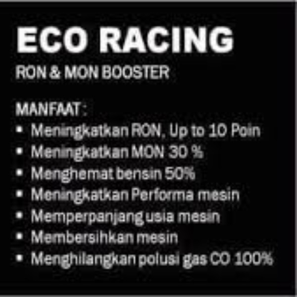 Eco Racing Diesel 1 Pack Isi@10 Sachet Original3