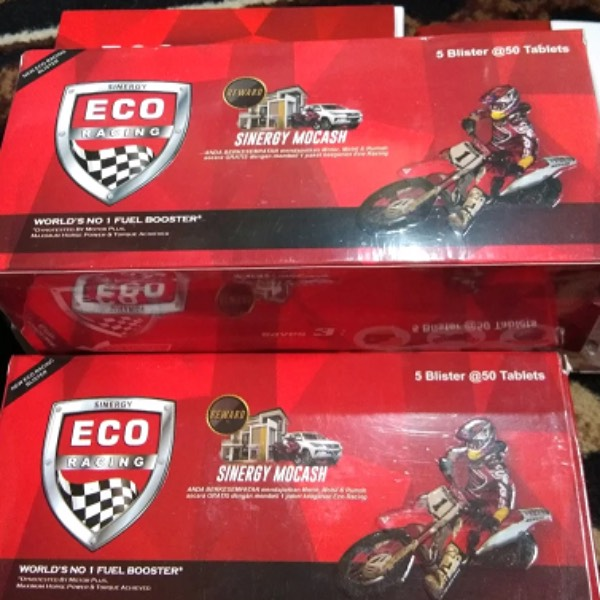 Eco Racing Motorcycle 1 Pack Isi@50 Butir Original