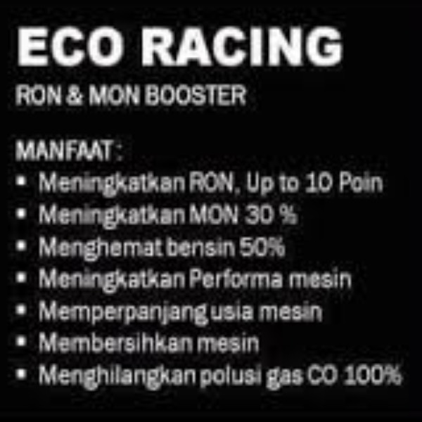 Eco Racing Motorcycle 1 Pack Isi@50 Butir Original1