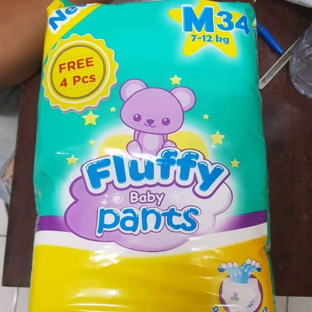 Fluffy Baby Pants Size M34 / L30 / Xl26 (promo)