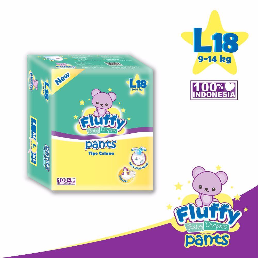 Fluffy Baby Pants L18 Isi @18pcs + Bonus 2pcs (promo)