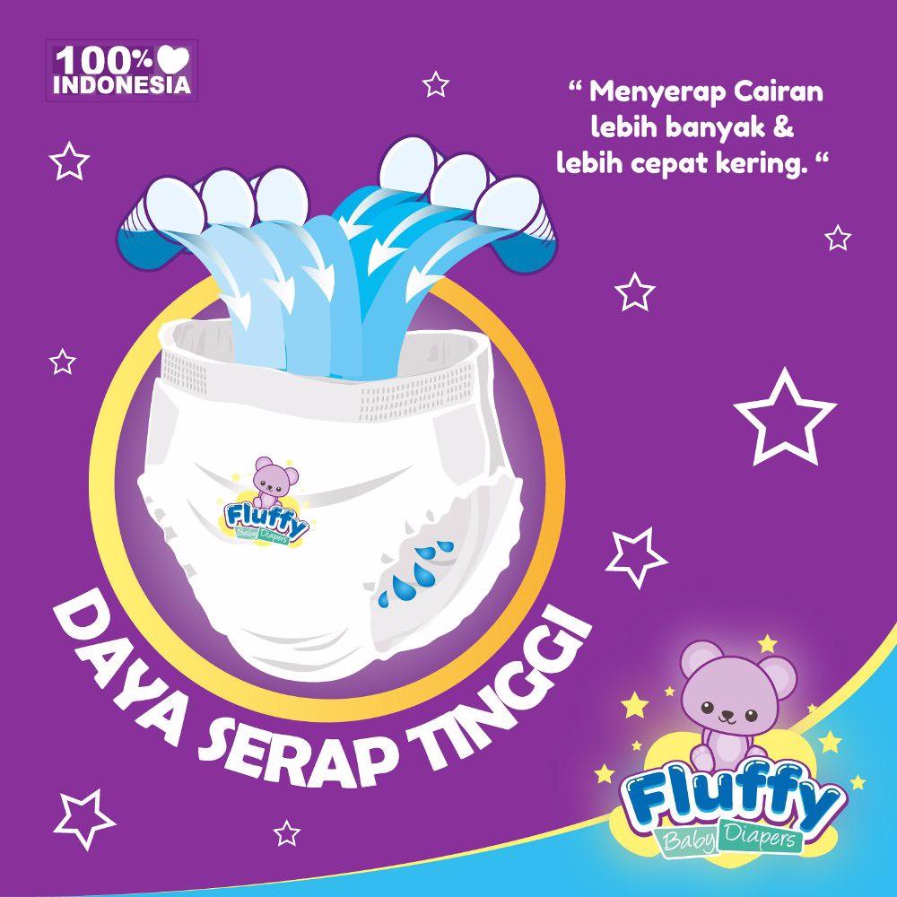 Fluffy Baby Pants M18 Isi @18pcs + Bonus 2pcs (promo)2