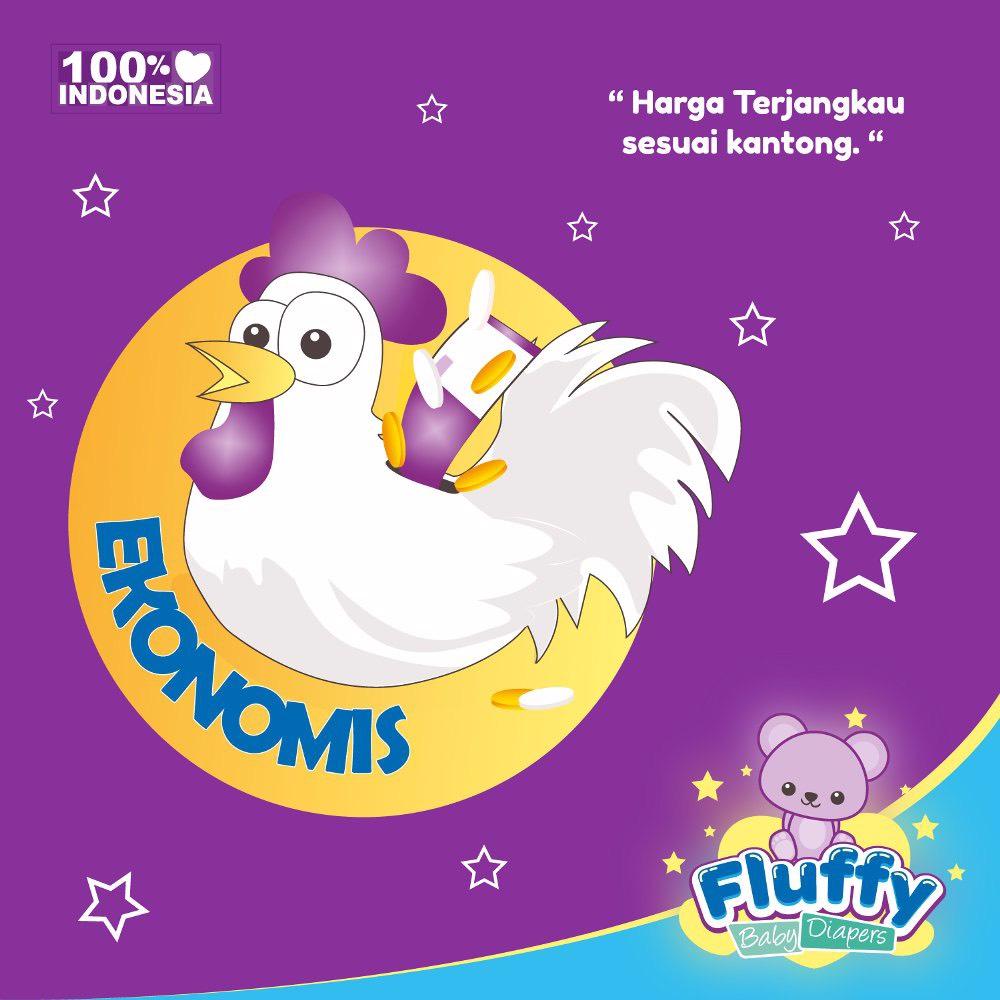 Fluffy Baby Pants M18 Isi @18pcs + Bonus 2pcs (promo)3
