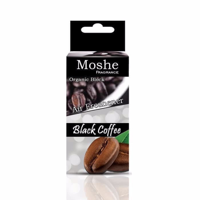 MOSHE AIR FRESHNER / PENGHARUM MOBIL & RUANGAN / AROMA BLACK COFFEE - Black Coffee