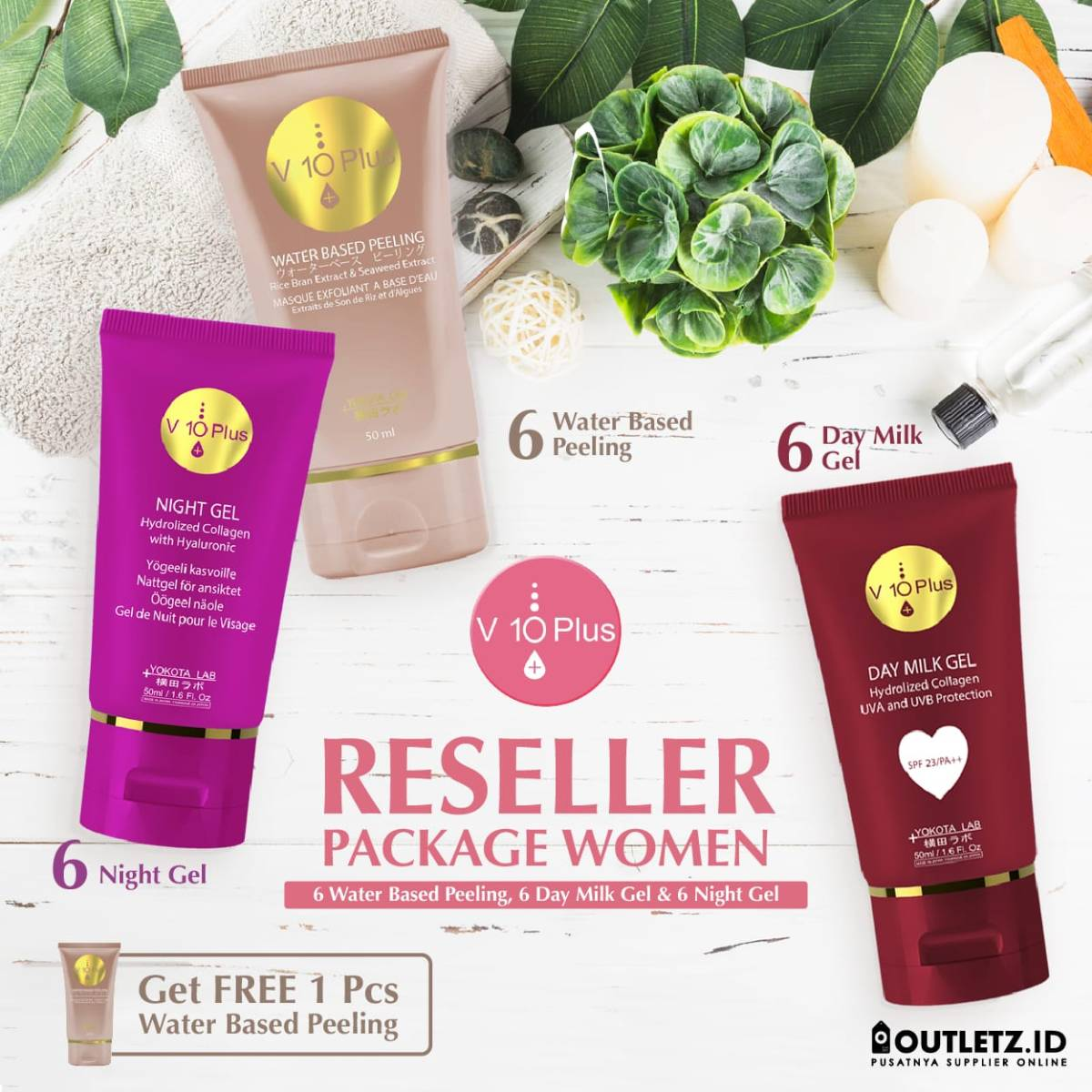 V10 Plus Women Reseller Package