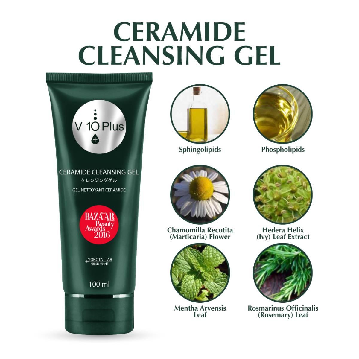 V10 Plus Ceramide Cleansing Gel1
