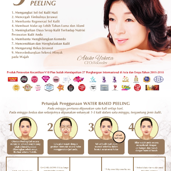 V10 Plus Sachet Water Based Peeling1