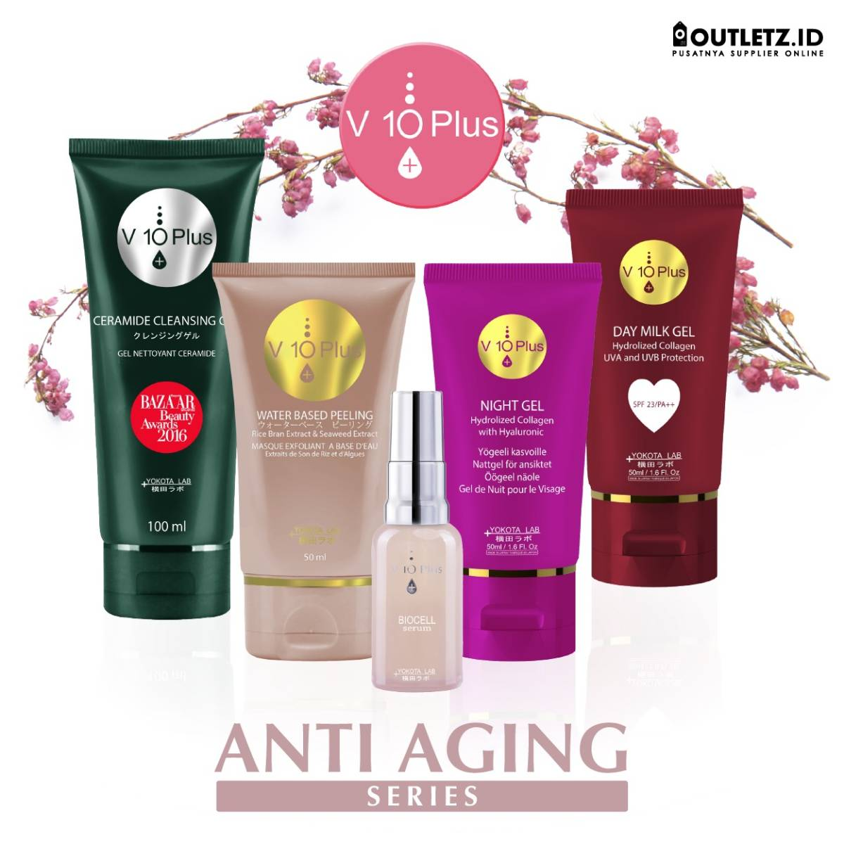 V10 Plus Anti Aging Series