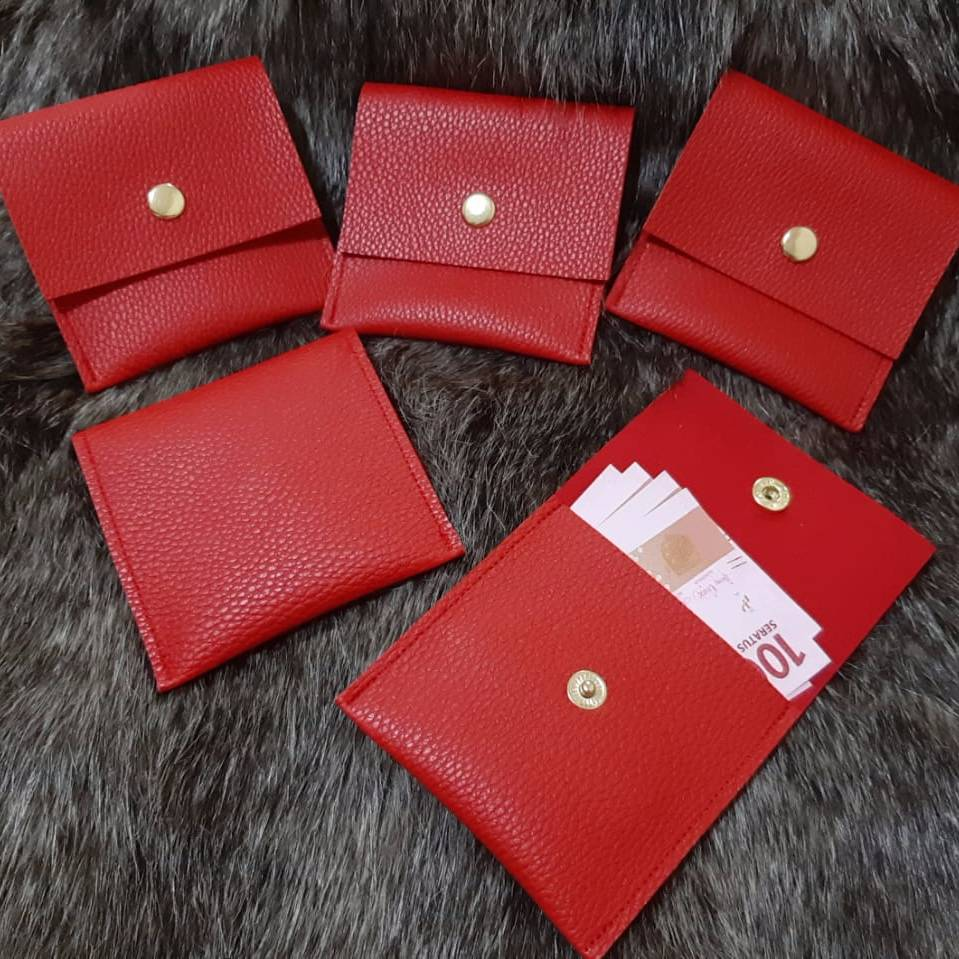 Dompet Angpao Chinese New Year (1 Set Isi 5 Buah) Merah