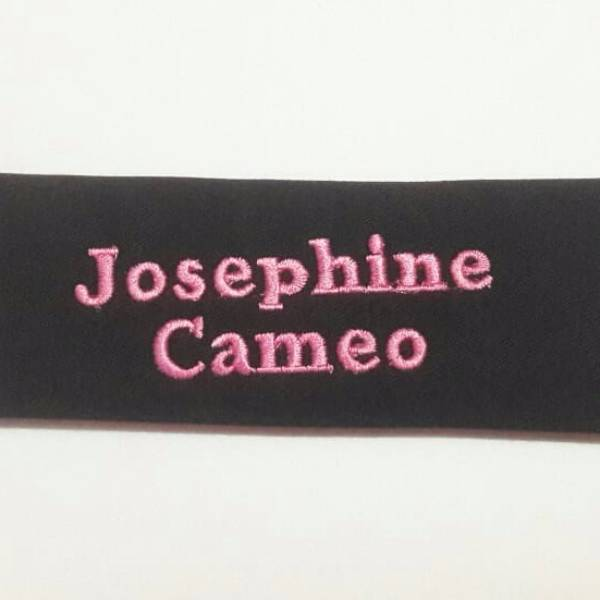 Strap Label Nama (name Strap) (1 Set Isi 2)