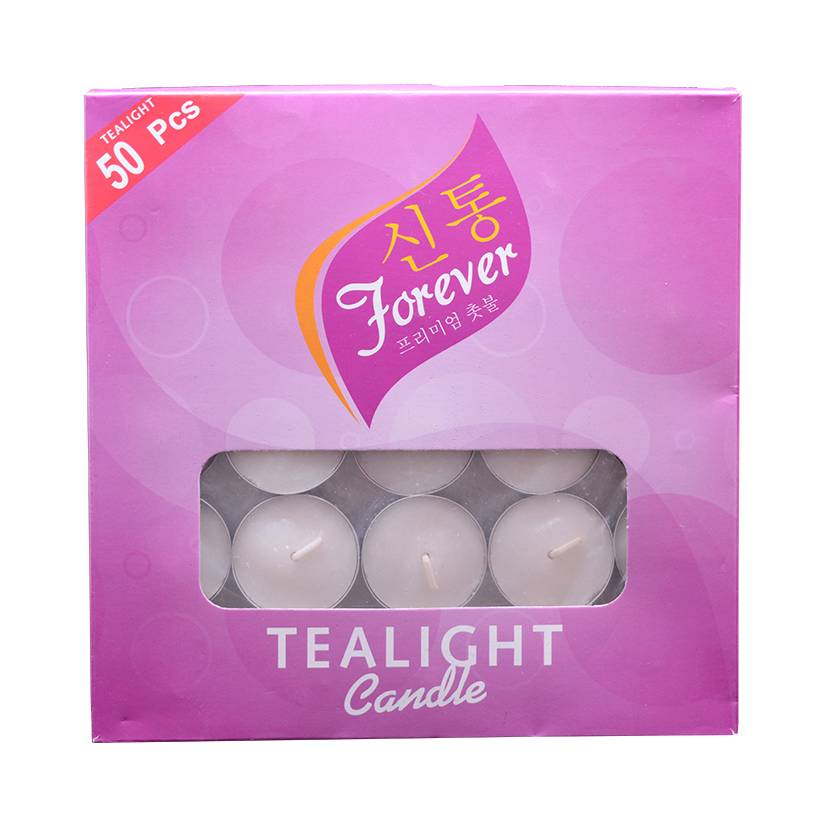 Forever Tealight Candle (putih) 50pcs/ Pack0