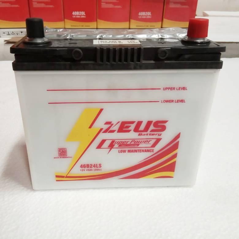 Aki Mobil Basah Zeus Ns60ls - 46b24ls Lm - 45 Amper2