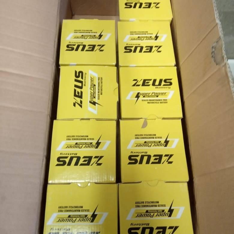 Aki Motor Honda Cbr 150 - Zeus Gtz 7s - Accu Kering 7 Amper4