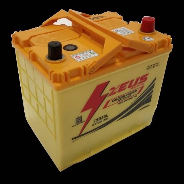 Aki Mobil Kijang Inova Diesel Tipe E/ G/ V Gs Zeus 75d23l Aki Kering Calcium4