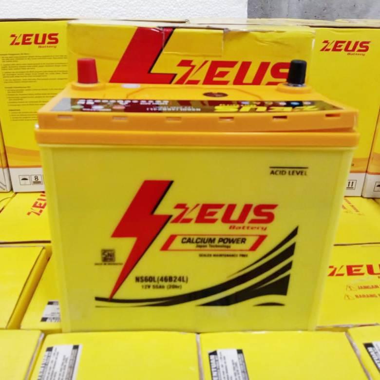 Aki Mobil Grand Livina Nissan Zeus Mf Ns60l Calcium Power 55 Amper3