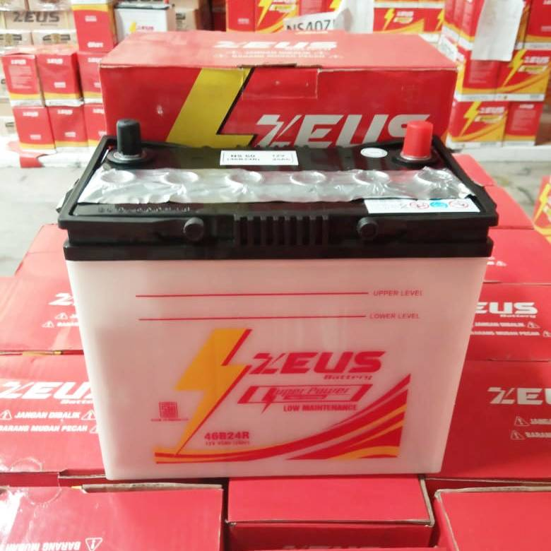 Aki Mobil Ns60 Zeus (grandmax, Apv,rush,terios,avanza,xenia) Upgrade1