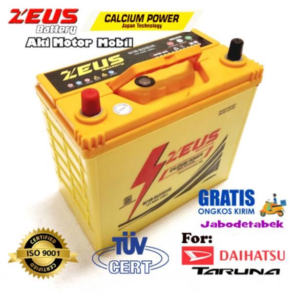 Aki Kering Mobil Daihatsu Taruna Nx100 S6 (55b24r) Zeus Calcium Power Kalsium