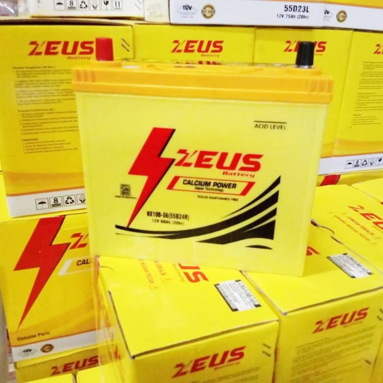 Aki Kering Mobil Daihatsu Taruna Nx100 S6 (55b24r) Zeus Calcium Power Kalsium2