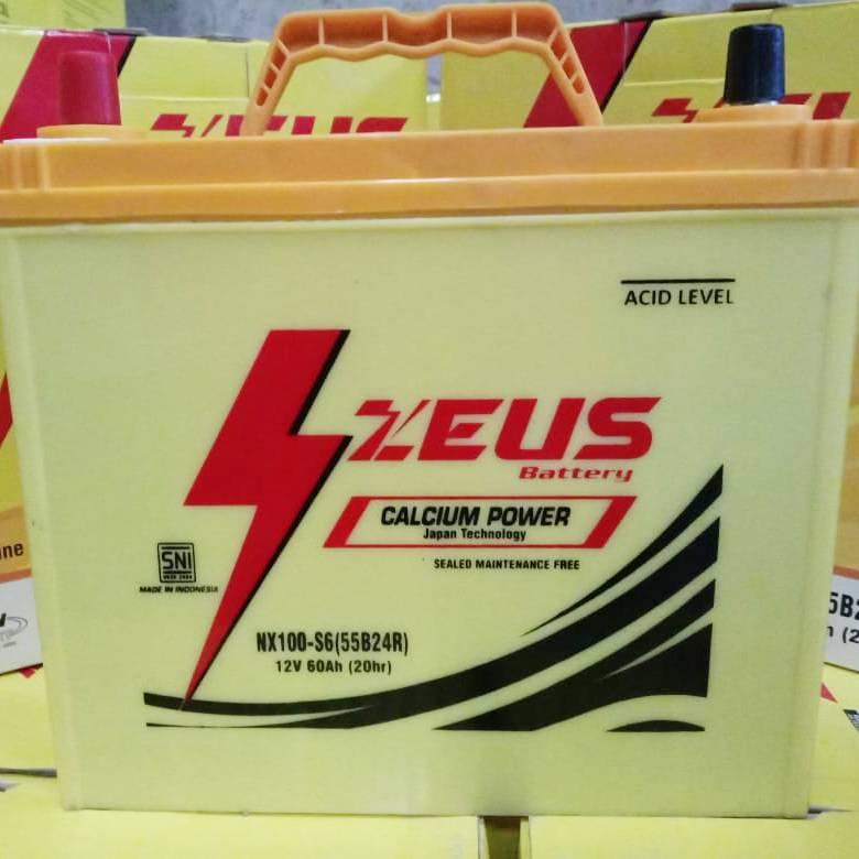 Aki Kering Mobil Daihatsu Taruna Nx100 S6 (55b24r) Zeus Calcium Power Kalsium3