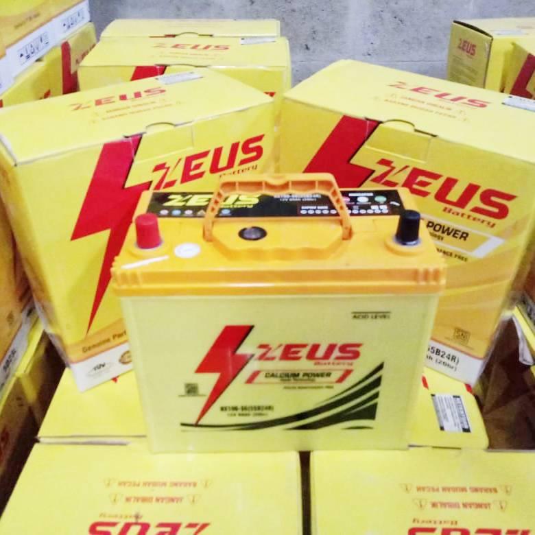 Aki Mobil Mitsubishi Glx Nx100 S6 Zeus Accu Kering Calcium Power2