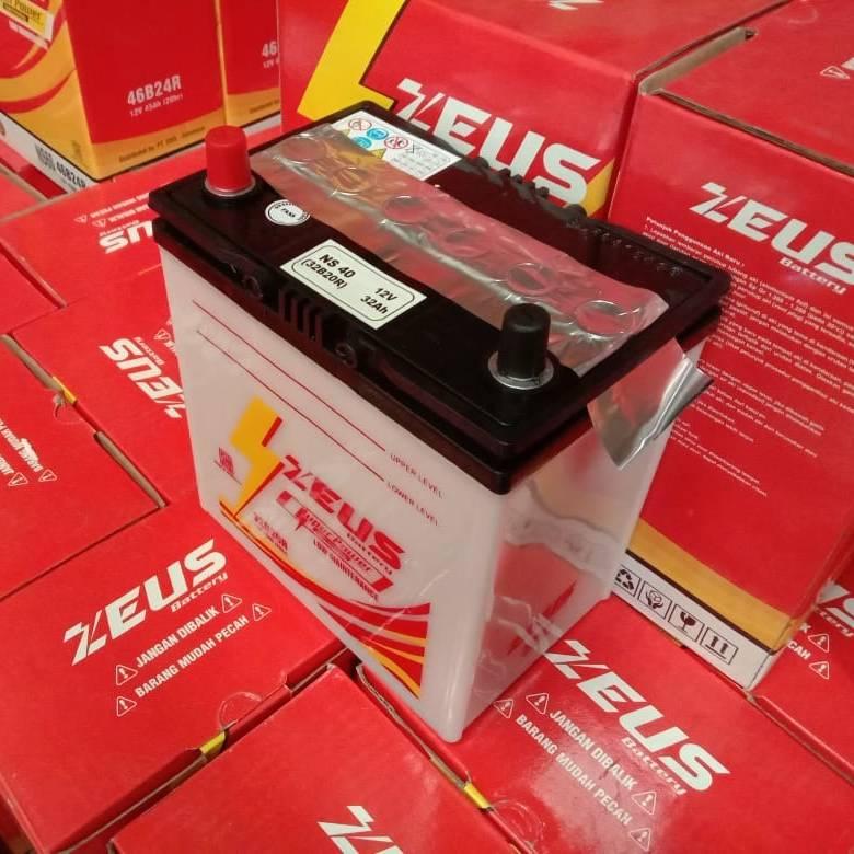 Aki Mobil Toyota Avanza Zeus Ns40 32ah Aki Basah Low Maintenance2