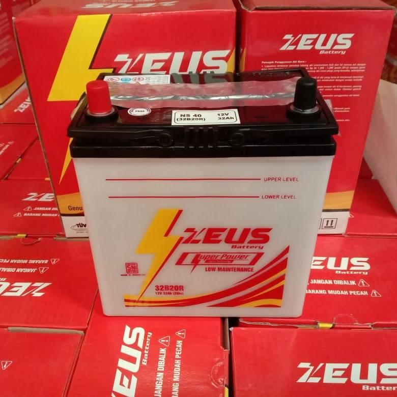 Aki Zeus Lm Ns60 32ah Untuk Mobil Luxio Daihatsu Accu Basah3