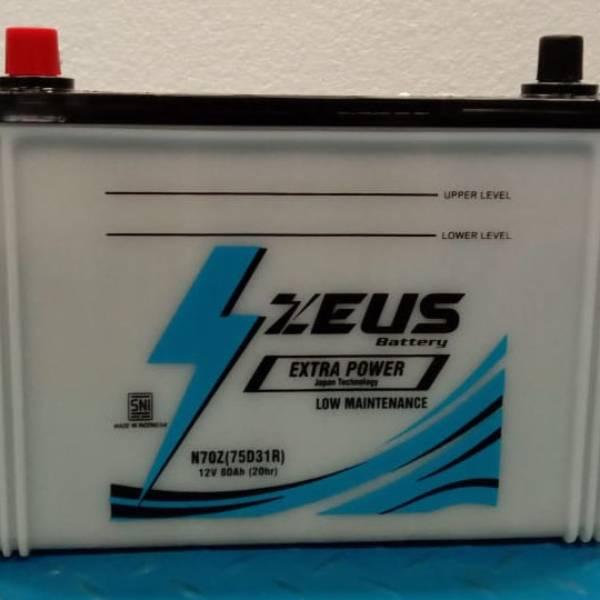 Aki Mobil N70Z Zeus untuk Ford Everest1