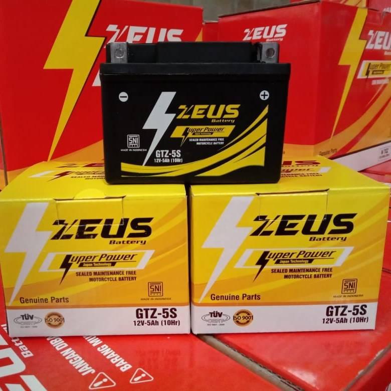 Aki motor Mio Soul, MioZ, Mio M 3 125, Mio GT 125, Mio J GTZ5S Zeus3
