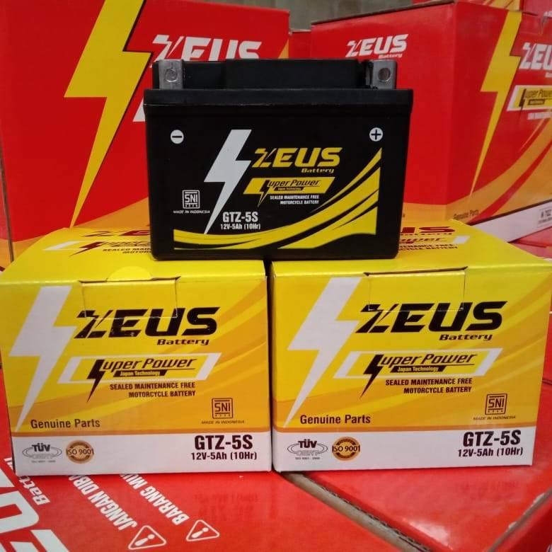 Aki motor Xeon, Xeon RC, X-Ride, Byson, Vixion (Old) GTZ5S Zeus3
