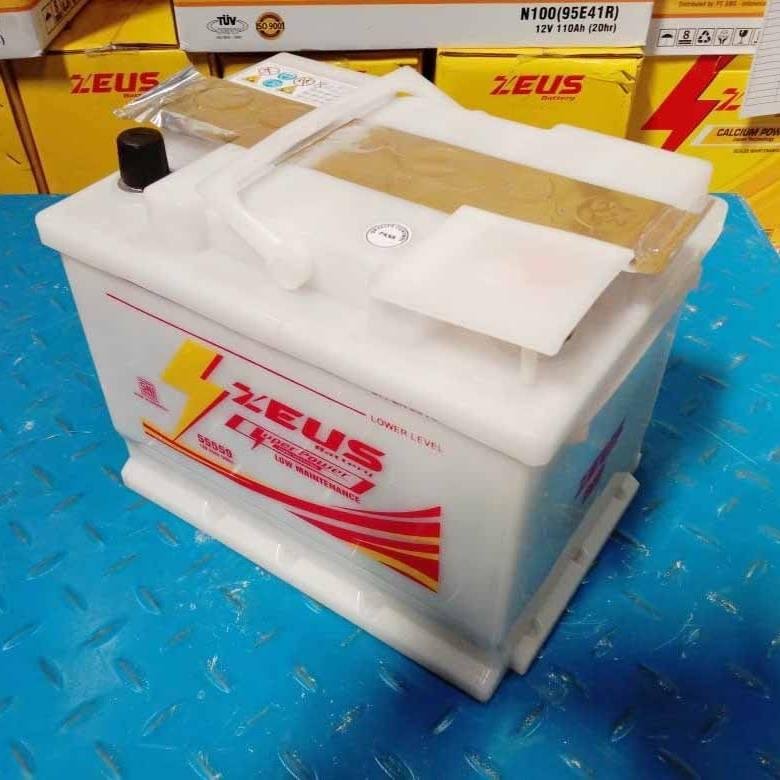 Aki Mobil Daihatsu CX DIN 55559 Zeus Low Maintenance1