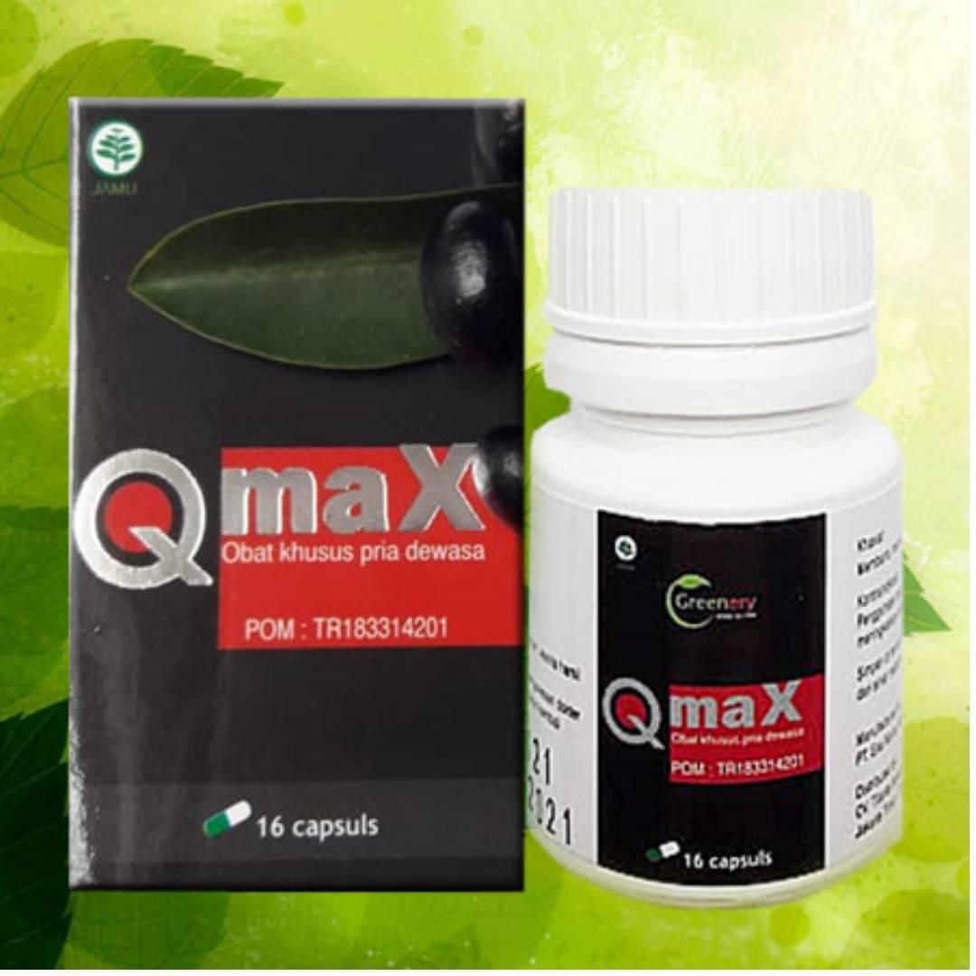 Suplemen Pria Dewasa Qmax Greenery Herbal
