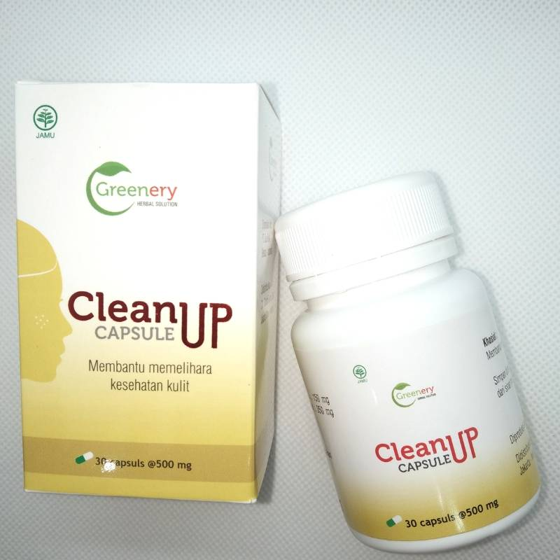 Obat Jerawat Herbal Clean Up Greenery