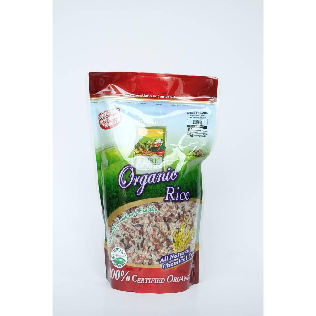 Beras Organik Pure Green Organic Multi Ethnic 1 Kg1