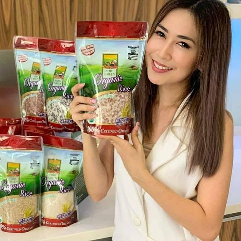 Beras Organik Pure Green Beras Cokelat 1 Kg2
