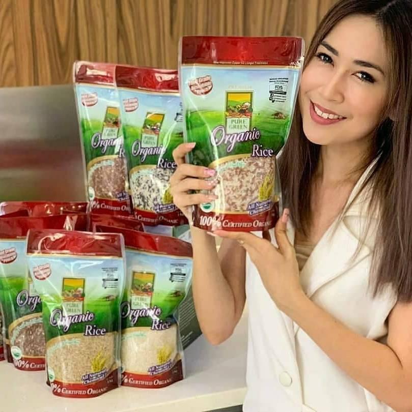 Beras Organik Pure Green Hitam Kombinasi 1 Kg - Khusus Gojek/grab Jakarta1