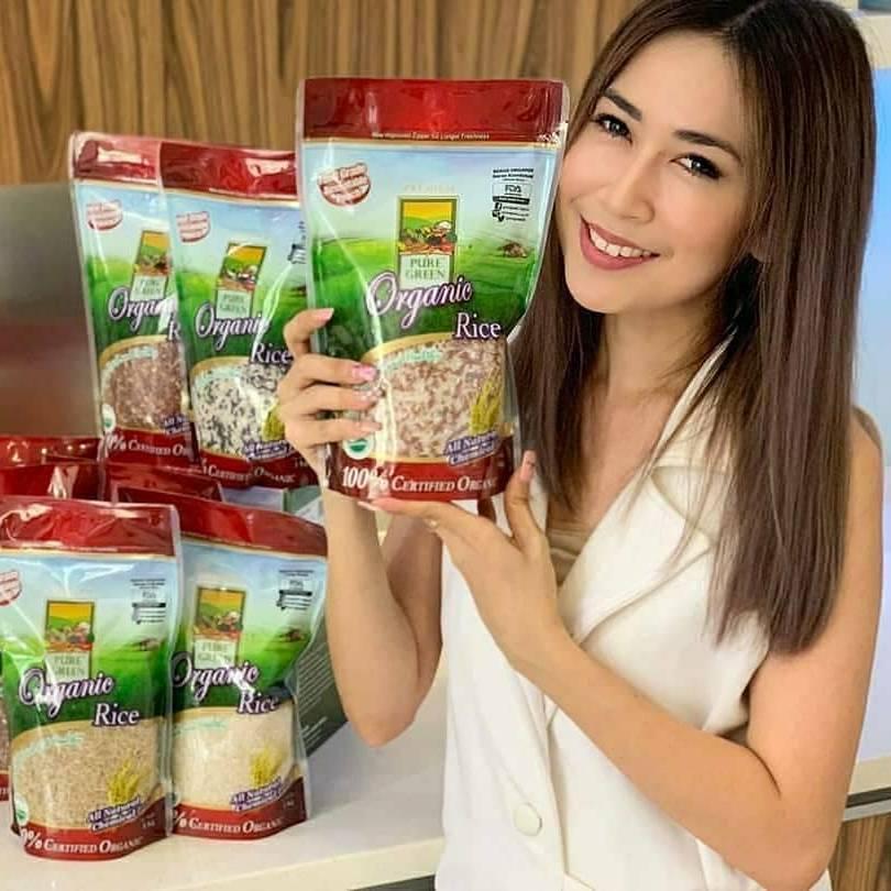 Beras Organik Pure Green Organic Beras Kombinasi 1 Kg - Khusus Gojek/grab Jakarta2