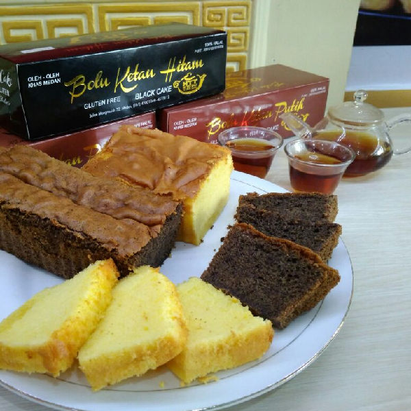 Bolu Mr Tea (glutinous Cake) Gluten Free
