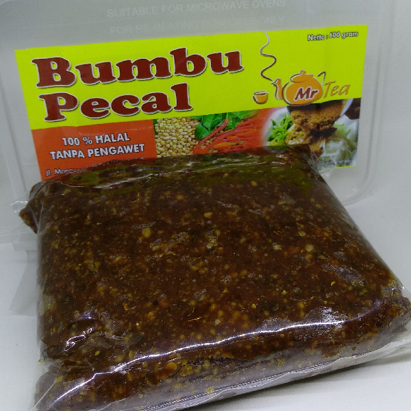 Bumbu Pecal Mr Tea (healthy Meal)1